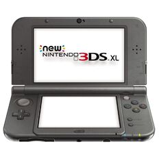 3DS Console XL New Metalic Black