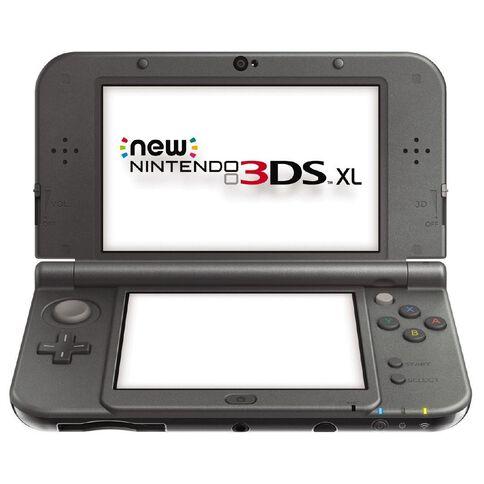 3DS Console XL New Metalic Black