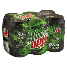 Mountain Dew Cans 355ml 6 Pack