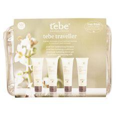 Tebe Bath & Shower Traveller Set 4 Piece