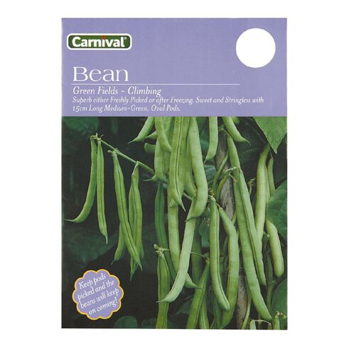 Carnival Field Dwarf Green Bean Vegetable Seeds
