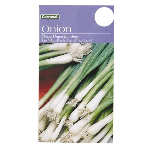 Carnival Seeds Spring Onion Bunch Vegetable