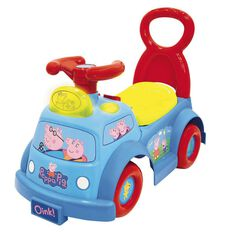 Peppa Pig Lights & Sounds Musical Ride On