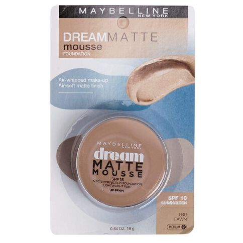 Maybelline Dream Matte Mousse Foundation Beige