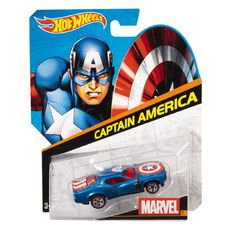 Marvel Hot Wheels Character Car Assorted