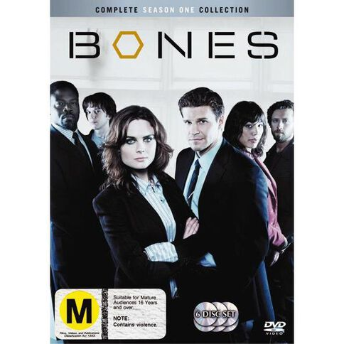 Bones Season 1 DVD 6Disc