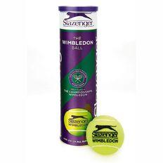 Slazenger Wimbeldon Tennis Balls 4 Pack