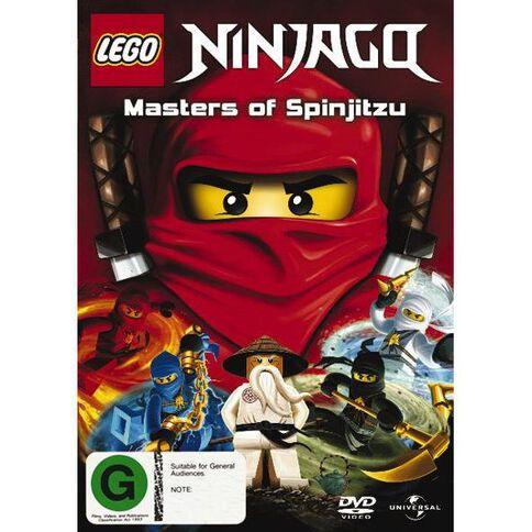 LEGO Ninjago DVD 1Disc