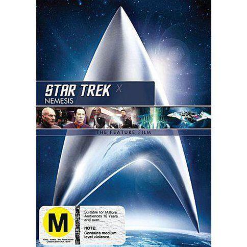 Star Trek X Nemesis Remastered DVD 1Disc