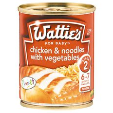 Wattie's Chicken Noodles and Vegetables Can 120g