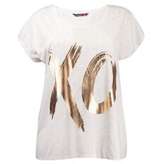 Kate Madison Placement Print Top