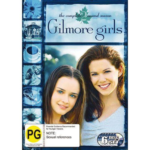 Gilmore Girls Season 2 DVD 6Disc