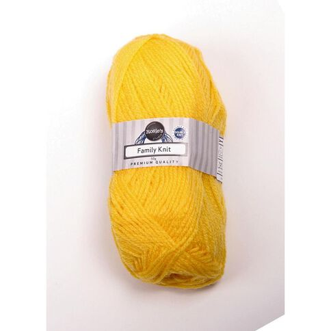 Rosie's Studio Basic Yarn Dark Family Knit Buttercup 50g
