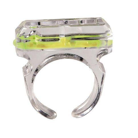 Neon Glow Glow Ring Green