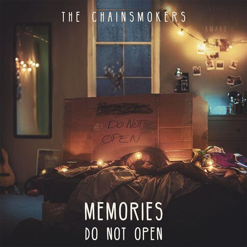 Memories Do Not Open CD by The Chainsmokers 1Disc