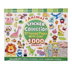 Anima Sticker Book 8 Themed Pages