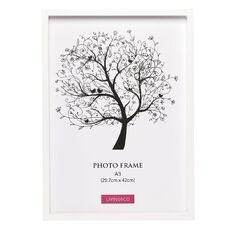 Living & Co Eden Frame White A3