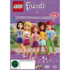 LEGO Friends Season 1 & 2 DVD 2Disc