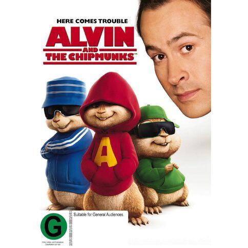 Alvin & The Chipmunks DVD 1Disc