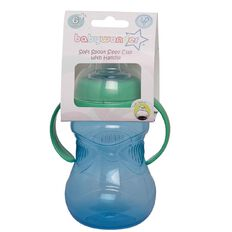 Baby Wonder 2 Handle Gripper Cup with Soft Spout Assorted Colours