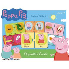 Peppa Pig Opposites Card Game