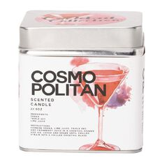 Tin Candle Cosmo 650g 10cm x 10cm