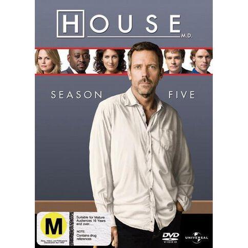 House Season 5 DVD 6Disc