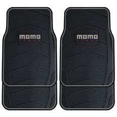 Momo Car Mats Black/Grey