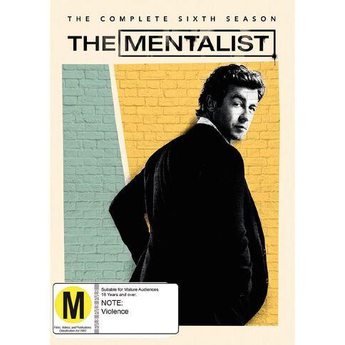 The Mentalist Season 6 DVD 5Disc