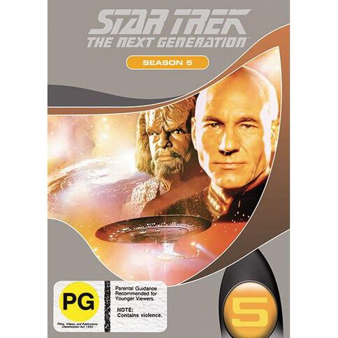 Star Trek Next Generation Season 5 DVD 1Disc