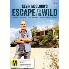 Kevin McCloud's Escape to the Wild DVD 1Disc