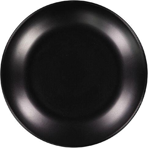 Living & Co Dinner Plate Matt Black 10.5 inch