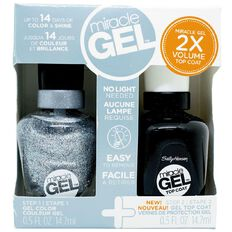 Sally Hansen Miracle Gel Duo Pack In A Flurry 600