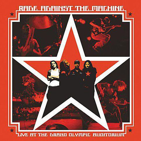 Live At The Grand Olympic by Rage Against The Machine CD