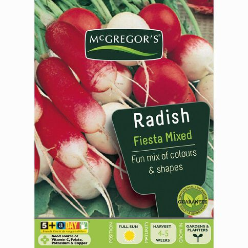 McGregor's Mixed Radish Vegetable Seeds