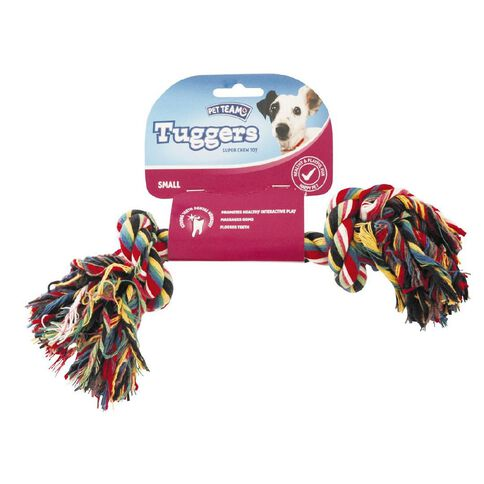 Pet Team Tugger Dental Toy Small