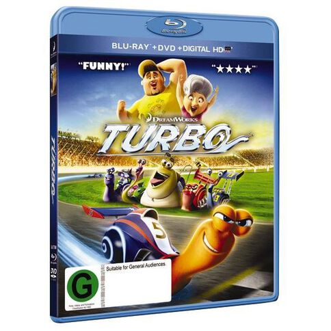 Turbo Blu-ray/DVD 2Disc