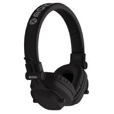 Moki Exo Bluetooth Headphones Black