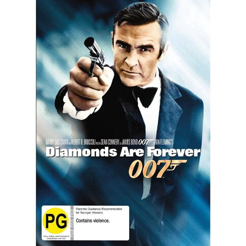Diamonds Are Forever 2012 Version DVD 1Disc