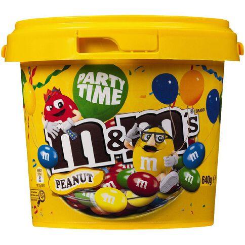 M&M's Peanut Bucket 640g