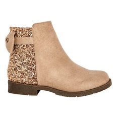 A'nD Kids' Glitter Ankle Boots