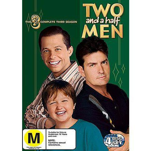 Two And A Half Men Season 3 DVD 4Disc