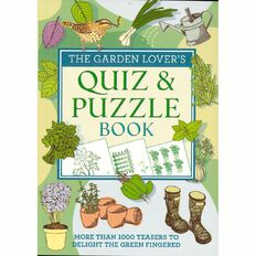 Garden Lovers Quiz and Puzzle Book