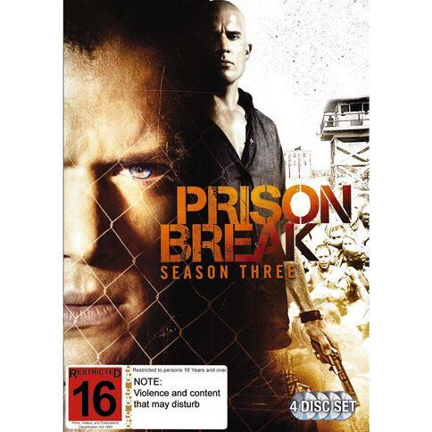 Prison Break Season 3 DVD 4Disc