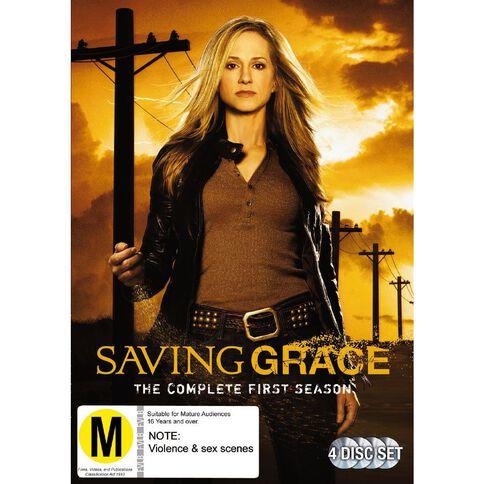 Saving Grace Season 1 DVD 4Disc