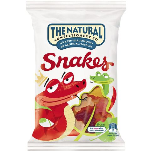 The Natural Confectionery Co. Snakes 260g