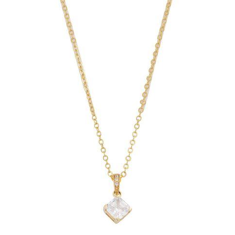 9ct Gold CZ Fancy Pendant