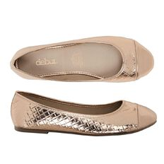 Debut Ogaki Ballet Shoes