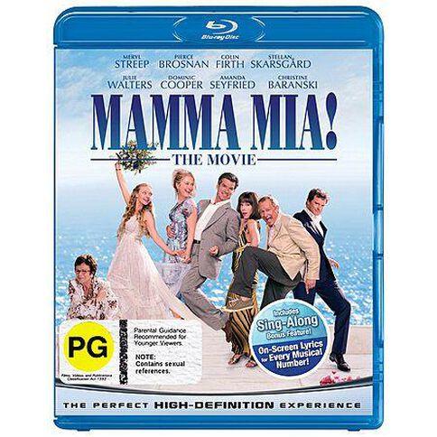 Mamma Mia Blu-ray 1Disc