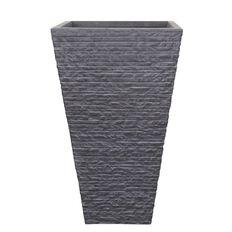 Brick Fibre Clay Pot Light Grey 31.5cm x 31.5cm x 53.5cm